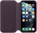 Apple kožené pouzdro Folio pro iPhone 11 Pro, fialové
