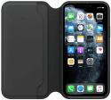 Apple kožené pouzdro Folio pro iPhone 11 Pro Max, černé