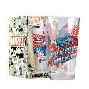 MAGIC BOX Captain America sklenice 450 ml