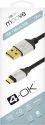 4-OK microUSB kabel 1,5m, černá