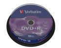VERBATIM 10DVD+R4,7GB 16x cake