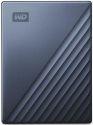 WD My Passport Ultra 2TB USB-C/USB 3.0 modrý