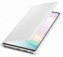 Samsung LED View knížkové pouzdro pro Samsung Galaxy Note10+, bílá