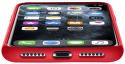 CellularLine Sensation silikonové pouzdro pro Apple iPhone 11 Pro, červená