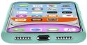 CellularLine Sensation silikonové pouzdro pro Apple iPhone 11, zelená