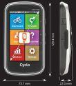 MIO Cyclo 405 Cyklonavigace