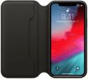 Apple kožené pouzdro Folio pro iPhone XS, černé