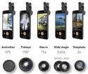 SBS fotografické čočky na chytrý telefonSBS 5v1 fotografické čočky na chytrý telefon