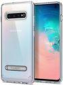 Spigen Ultra Hybrid S pouzdro pro Samsung Galaxy S10, transparentní