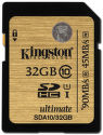 Kingston 32GB SDHC UHS-I Ultimate Class 10 - paměťová karta