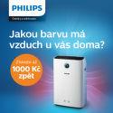 Cashback 1 000 Kč na čističky vzduchu Philips