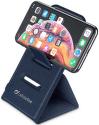 CellularLine Wireless Passport stojan s bezdrátovým nabíjením 10 W, modrá