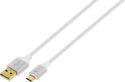 4-OK USB-C kabel 1,5m, bílá