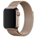 Apple Watch 40 mm řemínek milánský tah, zlatý