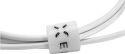 Fixed USB/Micro USB kabel 1 m, bílá