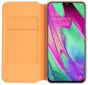 Samsung Wallet flipové pouzdro pro Samsung Galaxy A40, bílá