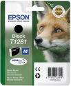EPSON T1281 M black (líška) - atrament