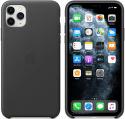 Apple kožený kryt pro iPhone 11 Pro Max, černý