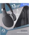 CellularLine Kosmos bluetooth sluchátka, černá