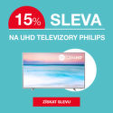 Sleva 15 % na UHD televize Philips