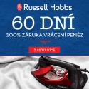 60 denní záruka vrácení peněz na Russell Hobbs