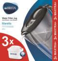 Brita Marella Starter Pack černá 2,4 l