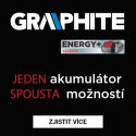 Graphite Energy+ system - jeden akumulátor, spousta možností