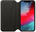 Apple kožené pouzdro Folio pro iPhone XS Max, černá