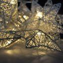 Solight 1V203 LED vánoční hvězdy propletané