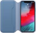 Apple kožené pouzdro Folio pro iPhone Xs Max, modré