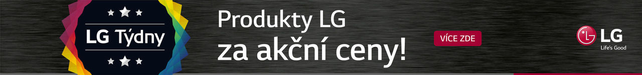LG Týdny - produkty LG za akční ceny