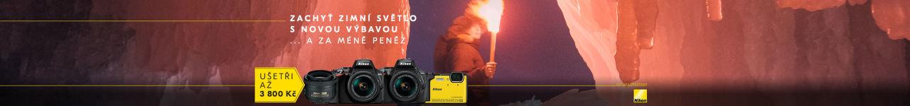 Ušetři s Nikonem - nová výbava za méně peněz