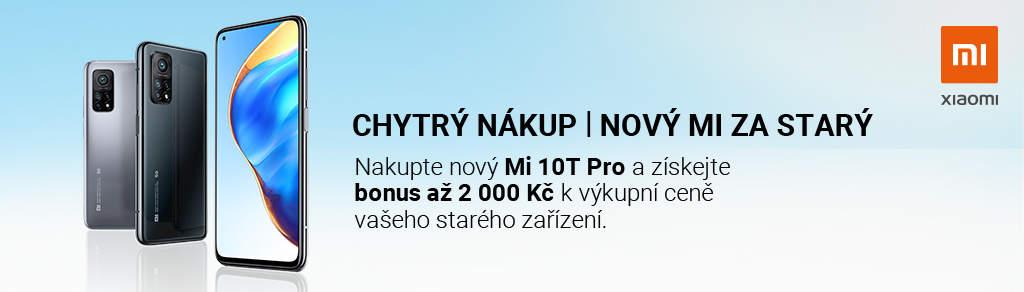 Výkupní bonus až 2 000 Kč ke koupi Xiaomi Mi 10T / 10 T Pro