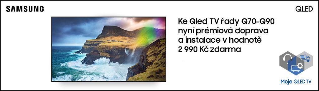 Prioritní servis a instalace na prémiové televizory Samsung