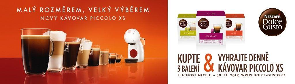 Soutěž o kávovar s kávou Nescafé Dolce Gusto