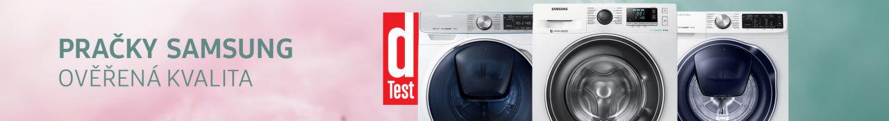 Samsung pračky - ověřená kvalita