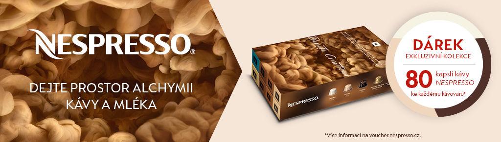 Nespresso - dejte prostor alchymii kávy a mléka