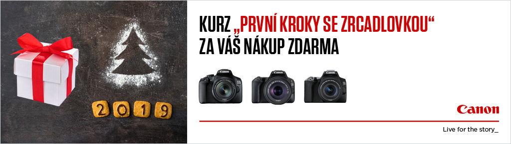 Kurz focení zdarma k nákupu vybraných zrcadlovek Canon