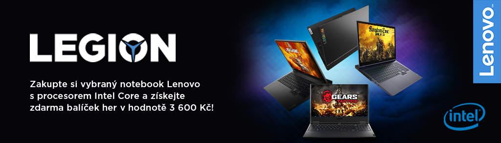 Balíček her k notebookům Lenovo Legion