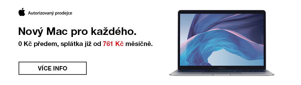 36 měsíců s nulovou akontací na všechny Mac produkty