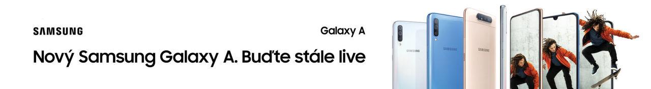 Nový Samsung Galaxy A. Buďte stále live