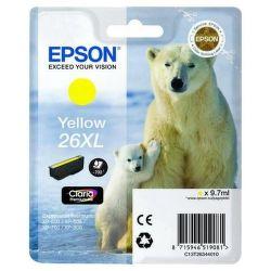 Epson T2634 26XL yellow (lední medvěd) - inkoustová náplň