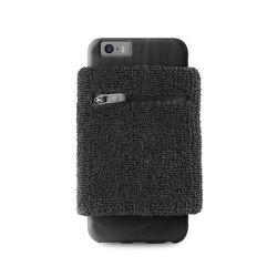 Puro sportovní náramek s rámečkem pro iPhone 6 (černé)