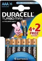 Duracell Turbo Max AAA 4 + 2