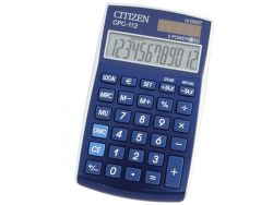 CITIZEN CPC-112, stolní kalkulačka