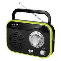 Sencor SRD 210 (zelený) - rádiobudík