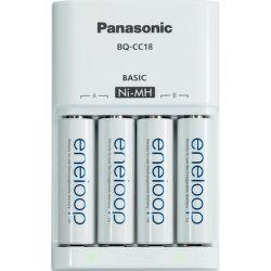 Panasonic MQN04-E-4-3UTGB - nabíječka s bateriemi 4x AA 1900