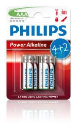 Philips Power Alkaline AAA (LR03), 6ks