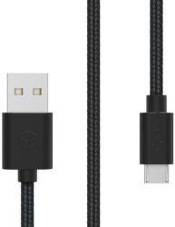 Sturdo MicroUSB 2A kabel 1,5m (černý)