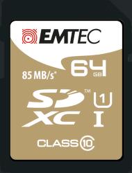 Emtec 64GB SDXC Class10
